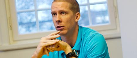 Christian Olsson slutar med idrotten. Foto: Erik Abel/Scanpix