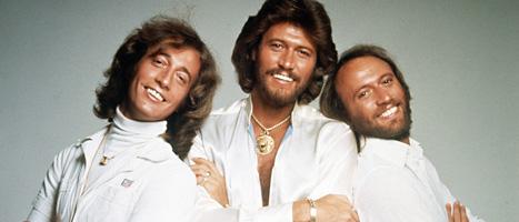Popgruppen Bee Gees, Robin, Barry och Maurice. Foto:AP/Scanpix