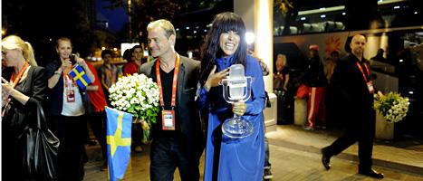 Loreen vann schlager-EM i Baku. Foto: Jessica Gow/Scanpix.