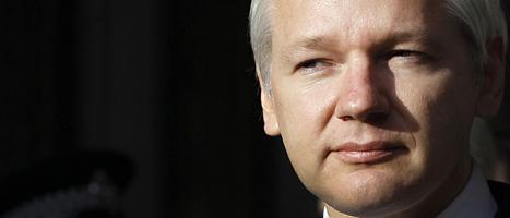 Wikileaks grundare Julian Assange kommer att hämtas av svensk polis. Foto:Kirsty Wigglesworth/Scanpix