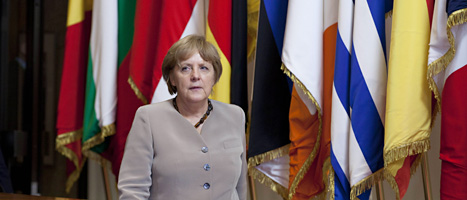 Tysklands ledare Angela Merkel. Foto: Virginia Mayo/Scanpix.