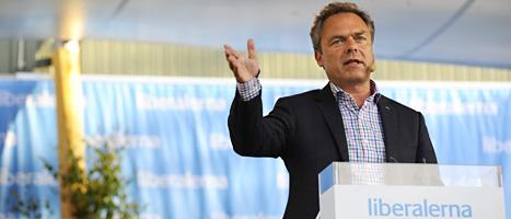Folkpartiets ledare Jan Björklund. FOTO: Henrik Montgomery/SCANPIX