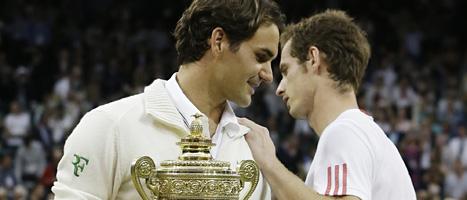 Roger Federer vann herrfinalen i Wimbledon. Foto. Kirsty Wigglesworth/Scanpix