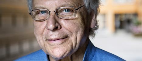 Journalisten och populärhistorikern Herman Lindqvist. FOTO: Christine Olsson/SCANPIX