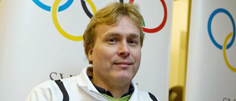 Jonas Jacobsson tog en ny medalj i Paralympics. Bertil Ericson/Scanpix