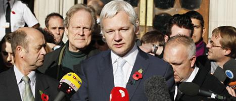 Julian Assange tror att Sverige kommer att behandla honom orättvist. Foto: Kate Wigglesworth/Scanpix