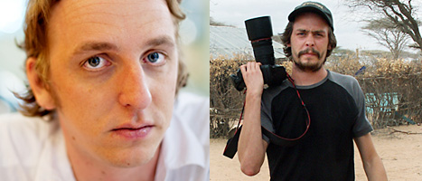 Martin Schibbye och Johan Persson har varit fångar i 14 månader. Foton: Jonas Gratzer/ Scanpix och Kontinent Agency