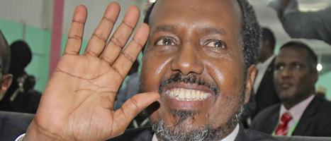 Hassan Sheikh Mohamud är Somalias nya president. Foto: Farah Abdi Warsameh/Scanpix