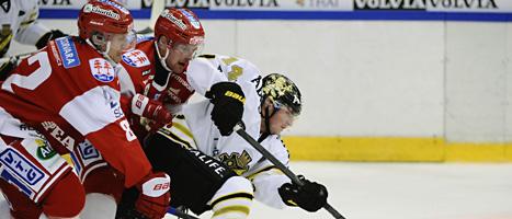 AIK förlorade mot Timrå i Elitserien. Foto: Robin Nordlund/Scanpix
