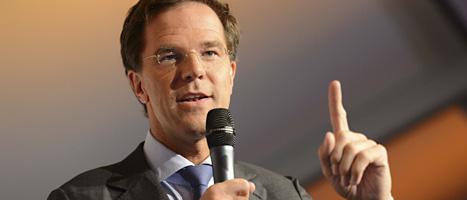Mark Ruttes liberala parti vann valet i Nederländerna. Foto: Ermindo Armino/Scanpix