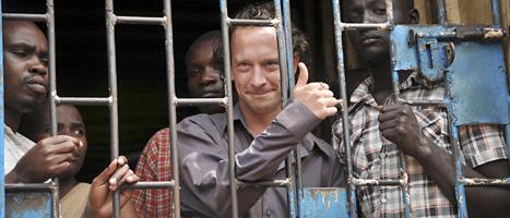 David Cecil kan straffas för sin pjäs. Foto: Steven Wandera/Scanpix