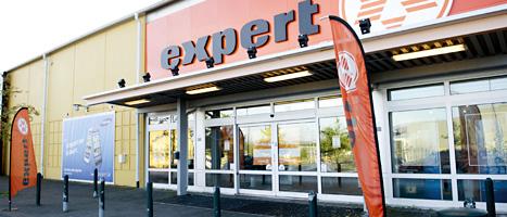 Butikskedjan Expert tvingas stänga sina butiker. Foto: Fredrik Sandberg/Scanpix