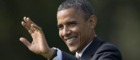USAs president Barack Obama har en bra chans att få fortsätta  som landets ledare. Foto: Carolyn Kaster/Scanpix.