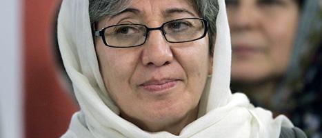 Läkare Sima Samar från Afghaistan får pris. Foto: Roccardo De Luca/Scanpix