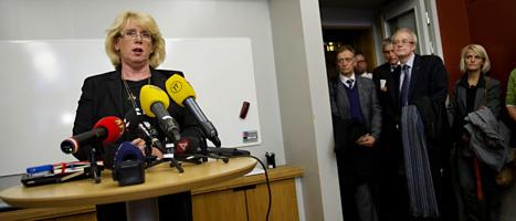 Sveriges miljöminister Lena Ek. Foto: Jessica Gow/Scanpix