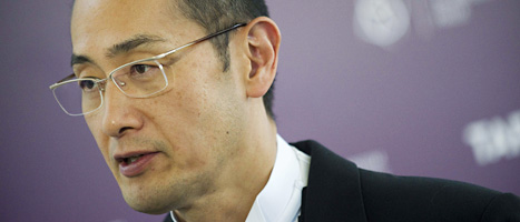Shaniya Yamanaka från Japan får Nobelpriset. Foto: Jarno Mela/Scanpix