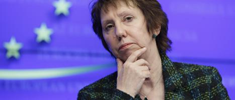 EUs utrikesminister Catherine Ashton. Foto: Virginia Mayo/AP/Scanpix