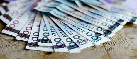 En stor del av de pengar svenskarna tjänar går till olika skatter.  Foto: Scanpix.