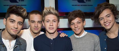 Pojkbandet One Direction ska spela i Sverige. Foto: PA Wire/Scanpix.