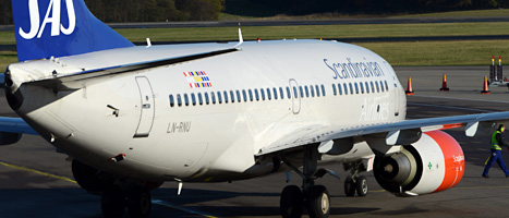 Flygbolaget SAS måste spara mer pengar. Foto:Johan Nilsson/Scanpix.