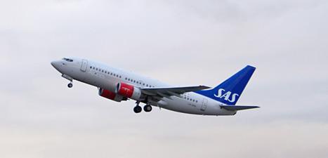 Flygbolaget SAS måste spara mycket pengar för att överleva.  Foto: Paul Kleiven/Scanpix.