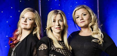 Gruppen Cookies N Beans ska vara med i Melodifestivalen. Foto: Marc Femenia/Scanpix.