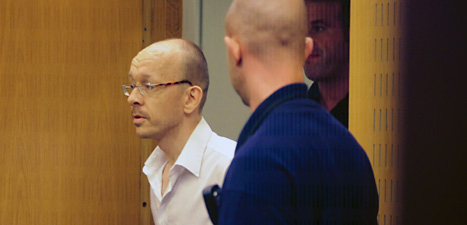 Peter Mangs dömdes till livstids fängelse. Foto: Drago Prulovic/Scanpix.