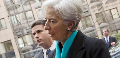 Christine Lagarde är chef för Internationella valutafonden, IMF. Foto: Virginia Mayo/Scanpix.
