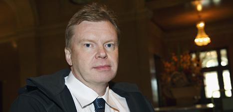 Sverigedemokraten Lars Isovaara är politiker i riksdagen.  Foto: Henrik Montgomery/Scanpix.