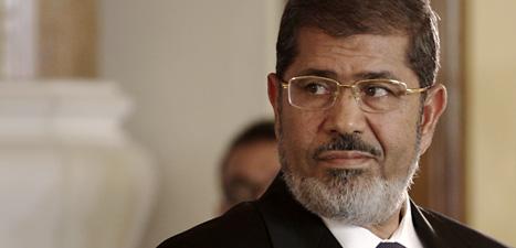 Muhammed Mursi säger att Egypten ska vara en ett demokratiskt land. Foto: Maya Alleruzzo/Scanpix.