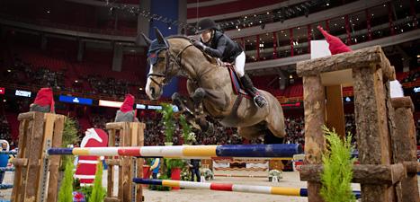 Malin Baryard Johnsson vann i Stockholm. Foto: Jessica Gow/Scanpix.