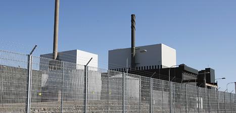 En reaktor stoppas vid kärnkraftverket i Oskarshamn. Foto: Mikael Fritzon/Scanpix
