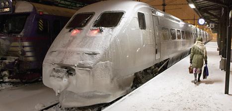 SJ stoppar flera tåg för att laga dem före jul. Foto: Stig-Åke Jönsson/Scanpix