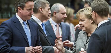 EUs ledare har träffats för att komma överens om nya bankregler. Foto: Geert Vander Wijngaert/Scanpix