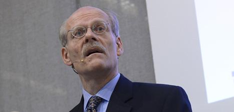 Stefan Ingves är chef för Riksbanken. Det är svenska statens bank. Foto: Bertil Enevåg Ericsson/Scanpix