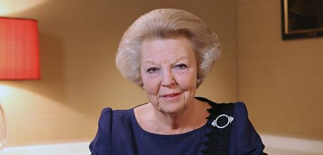 Drottning Beatrix slutar. Foto: AP/Scanpix.