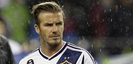 David Beckham ska spela fotboll för den franska klubben PSG. Foto: Ted S Warren/Scanpix.