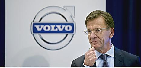 Volvochefen Håkan Samuelsson. Foto: Björn Larsson Rosvall/Scanpix.