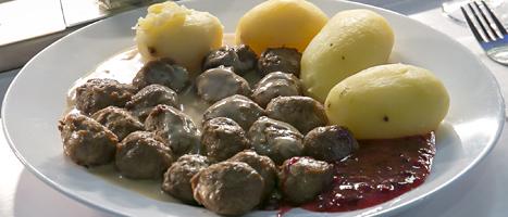 Ikea har slutat sälja köttbullar i sina restauranger i 24 länder. Foto: Heiko Junge/Scanpix.
