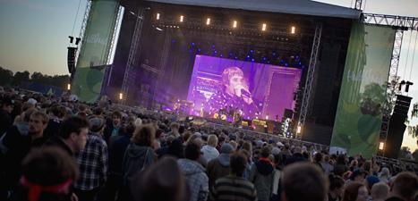 Stone Roses spelade på Hultfredsfestivalen 2012. Foto: Adam Ihse/Scanpix.