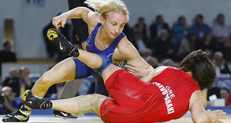 Sofia Mattsson vann EM-guld. Foto: Reuters/Scanpix.