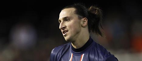 Zlatan Ibrahimovic får spela den viktiga  hemmamatchen mot Barcelona. Foto: Scanpix.