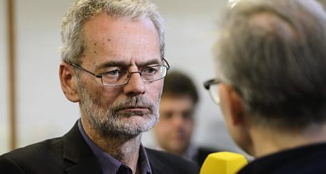 Fackförbundet Metalls ordförande Anders Ferbe är nöjd med det nya avtalet. Foto: Leif R Jansson/Scanpix