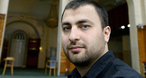 Omar Mustafa är ny medlem i Socialdemokraterna partistyrelse.  Foto: Janerik Henriksson/Scanpix.