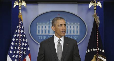 De som sprängde bomberna i Boston ska fångas och straffas, säger USAs president Barack Obama.