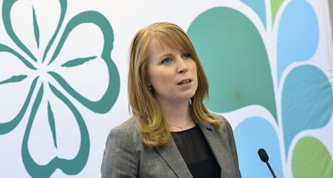 Centerpartiets ledare Annie Lööf. Foto: Jonas Ekströmer/Scanpix.