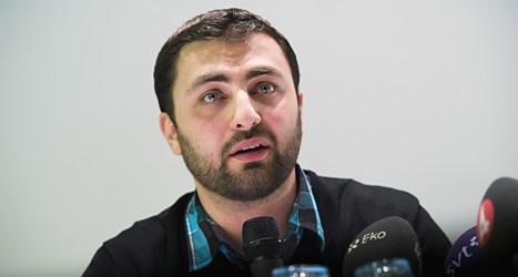 Omar Mustafa är besviken på Socialdemokraterna och lämnar partiet. Foto: Jonas Ekströmer/Scanpix.