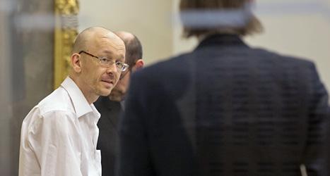 Peter Mangs döms till livstids fängelse. Foto: Drago Prvulovic/Scanpix