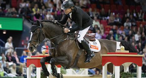 Rolf-Göran Bengtsson på hästen Casall La Silla. Foto: Adam Ihse/Scanpix