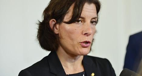 Sverige ska skicka soldater till landet Mali, säger Sveriges försvarsminister Karin Enström. Foto: Henrik Montgomery/Scanpix.